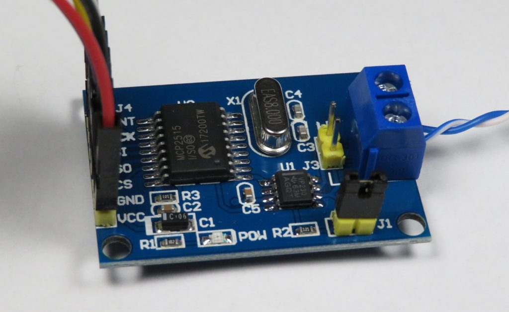 3.3V MCP2515 CAN Bus Module Board with SN65HVD230